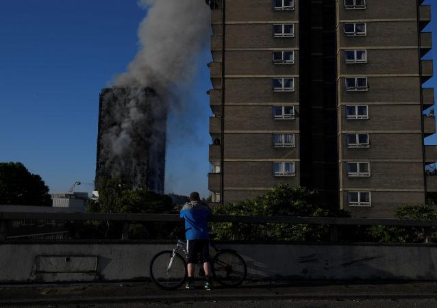 حريق هائل في لندن، 14 يونيو/ حزيران 2017