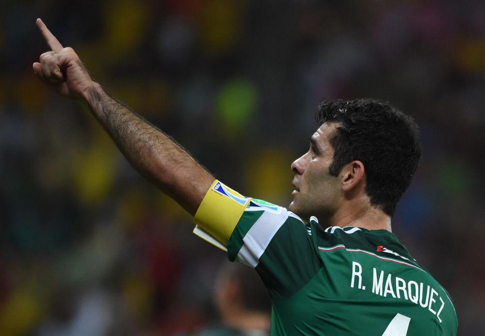 لاعب كرة القدم المكسيكي رافاييل ماركيز، يلعب في نادي أطلس المكسيكي