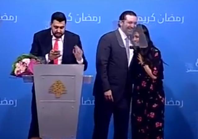 الحريري يفاجئ فتاة لبنانية بعرض للزواج