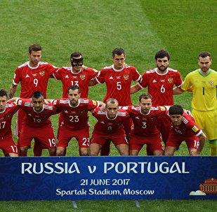 المنتخب الروسي المشارك في كأس القارات