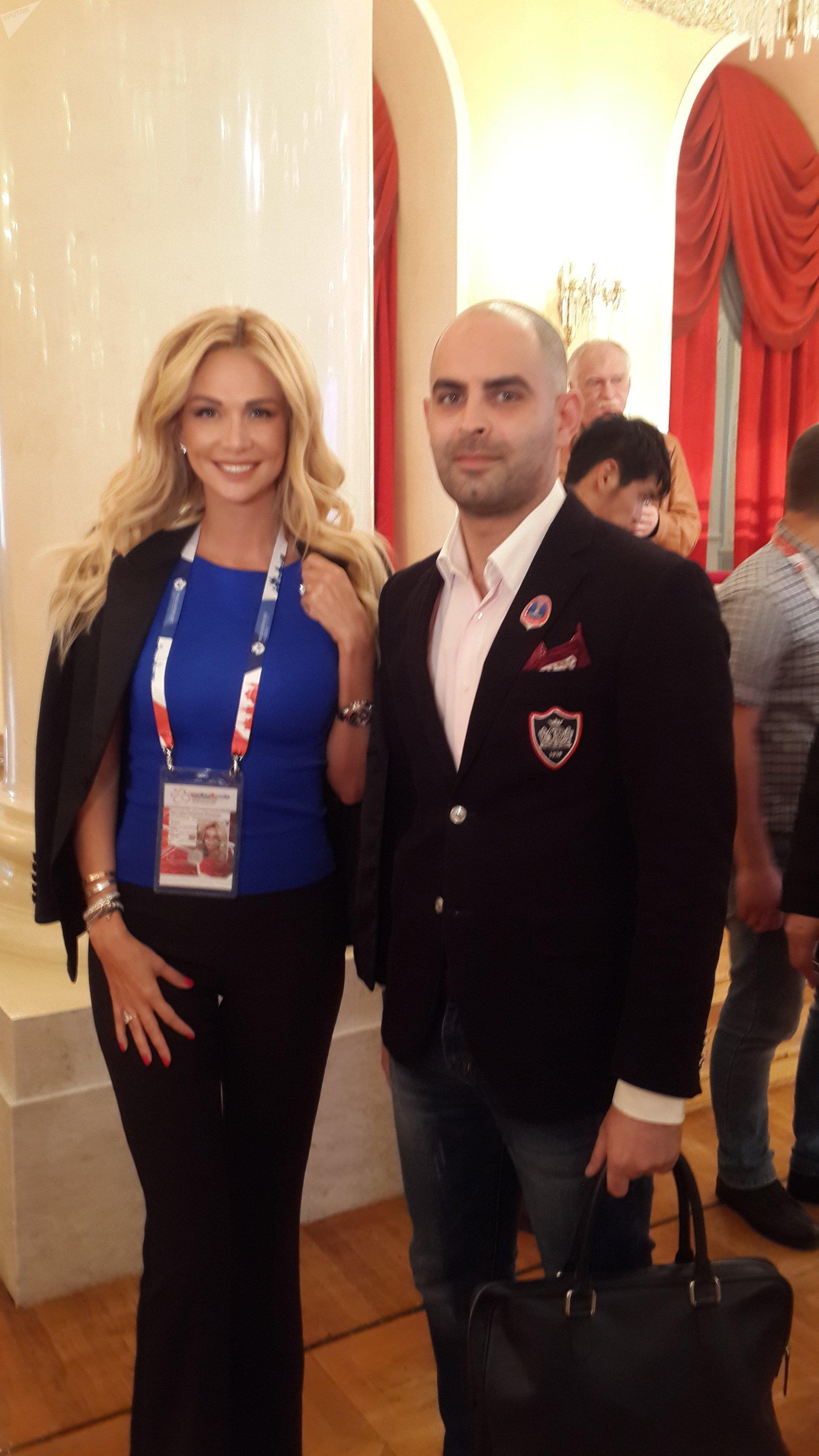 فيكتوريا لوبيريفا سفيرة روسيا لكأس العالم 2018