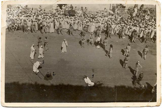 إعدام المسلحين الذين احتلوا المسجد المكي