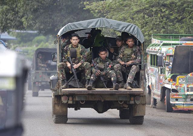 الجنود في الفلبين