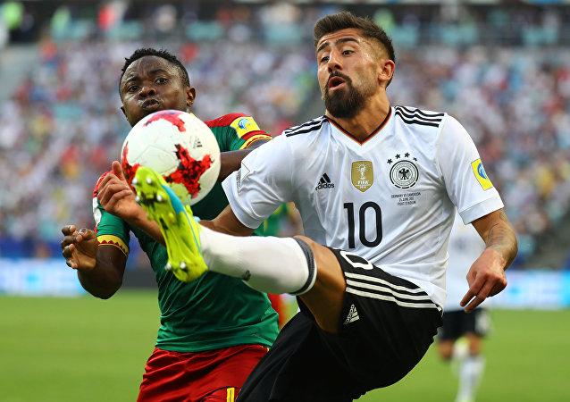 مباراة ألمانيا والكاميرون