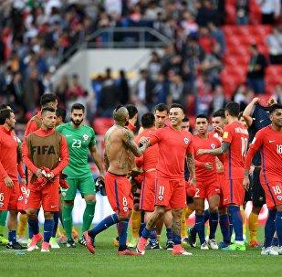 المنتخب التشيلي في كأس القارات