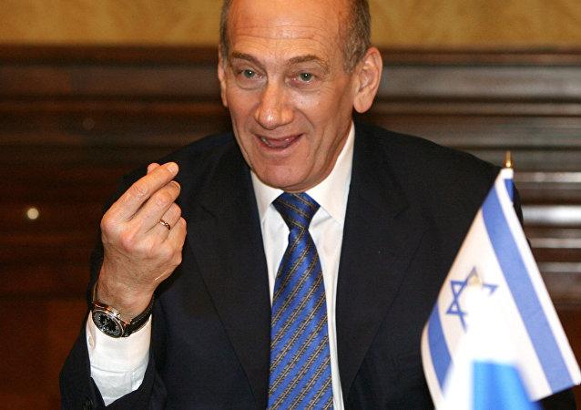 رئيس الوزراء الإسرائيلي السابق إيهود أولمرت