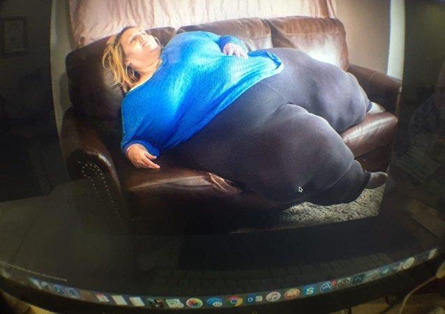 امرأة بوبي دجو ويستلي البالغة من وزن 250 كغم