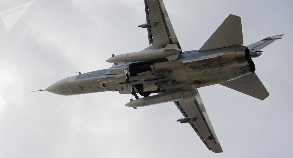 سو-24 في مطار اللاذقية، سوريا