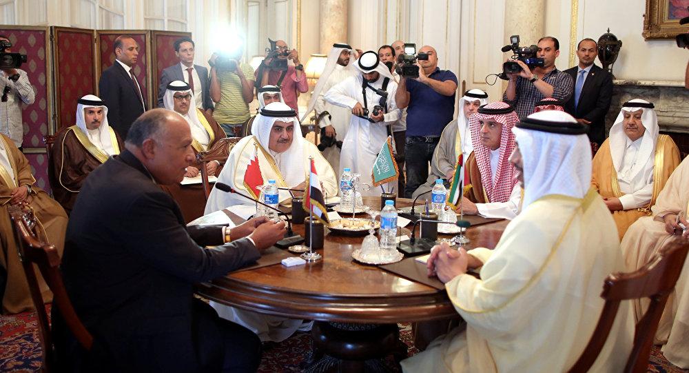 اجتماع وزراء الدول الأربع في القاهرة