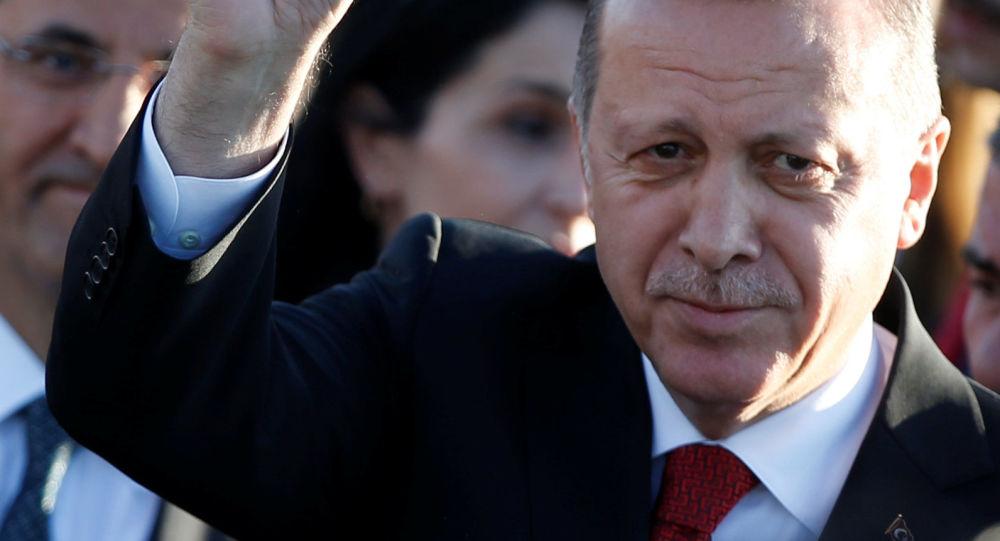 قمة مجموعة العشرين - رئيس تركيا رجب طيب أردوغان في هامبورغ، ألمانيا 6 يوليو/ تموز 2017
