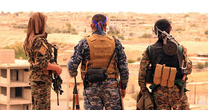 جنود القوات الديمقراطية السورية