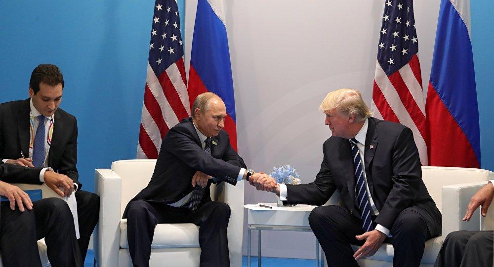 مباحثات الرئيسين بوتين وترامب في هامبورغ