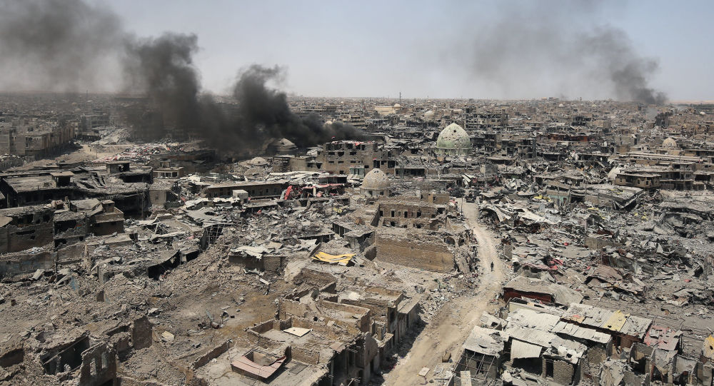 الموصل، العراق 9 يوليو/ تموز 2017