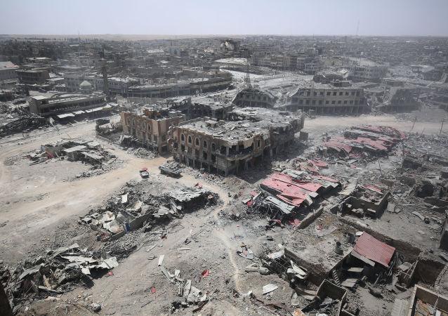 البلدة القديمة في الموصل، العراق 9 يوليو/ تموز 2017