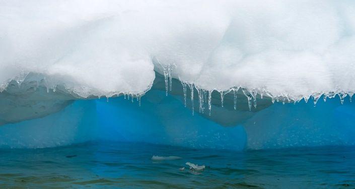 ذوبان الجليد في القطب الجنوبي