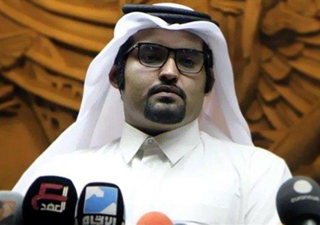 خالد الهيل المتحدث باسم المعارضة القطرية