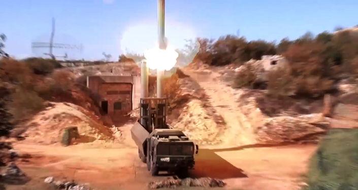 منظومة باستيون تطلق صاروخ أونيكس