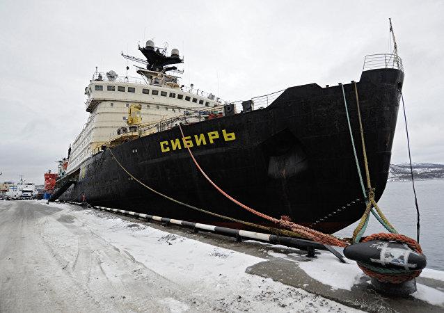 كاسحة الجليد النووية الروسية الجديدة سيبيريا
