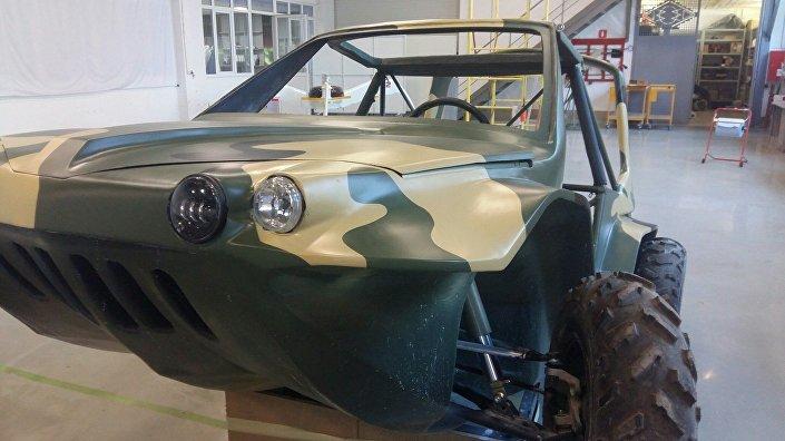 سيارة روسية برمائية طائرة