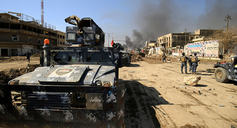 عربات مدرعة عسكرية للشرطة الاتحادية العراقية
