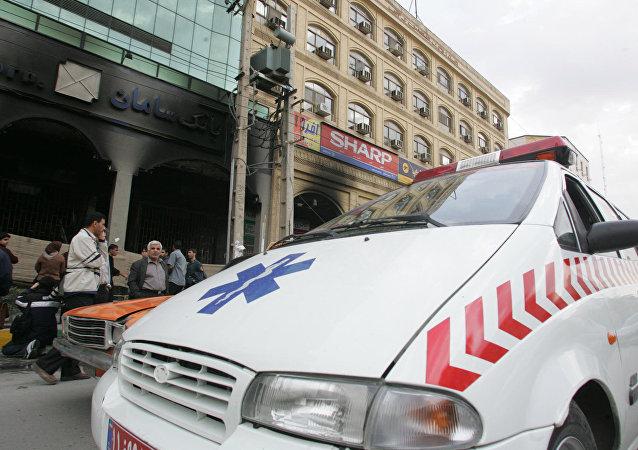 سيارة إسعاف إيرانية