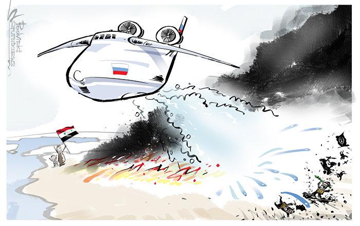روسيا تنقذ الشرق الأوسط من نار الولايات المتحدة