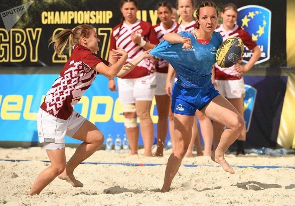 بطولة أوروبا لـالرغبي للنساء - فريقي روسيا ولاتفيا