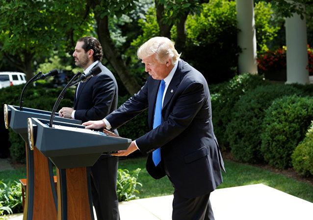 ترامب والحريري