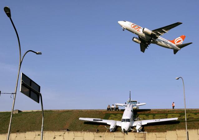 مطار كونجونهاس الدولي في سان لاولو، البرازيل