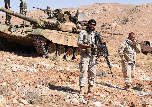 مقاتلو حزب الله في جرود عرسال