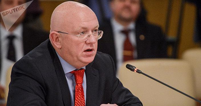 فاسيلي نيبينزا مندوب دائم لروسيا لدى الأمم المتحدة