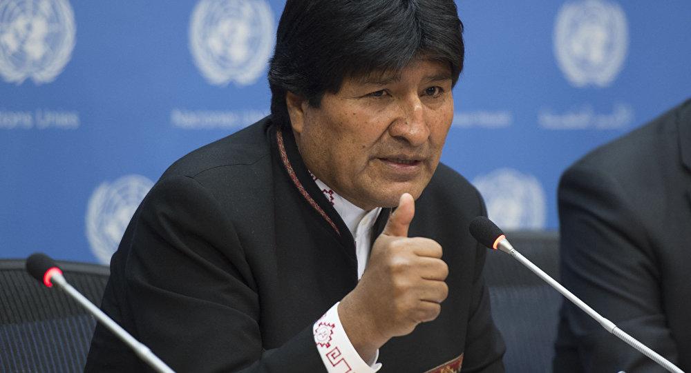 الرئيس البوليفي، ايفو موراليس