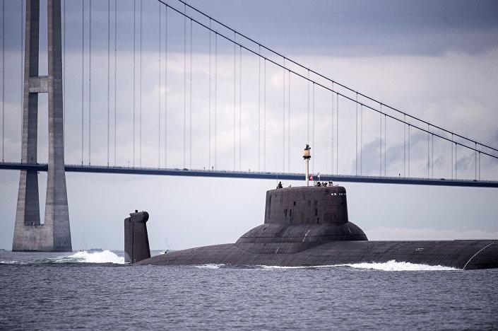 الغواصة النووية الصاروخية دميتري دونسكوي