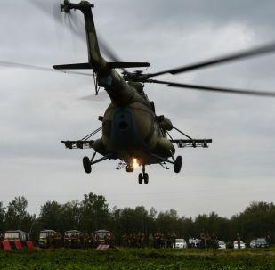 الألعاب العسكرية الدولية أرميا-2017 في روسيا - مروحية مي-8