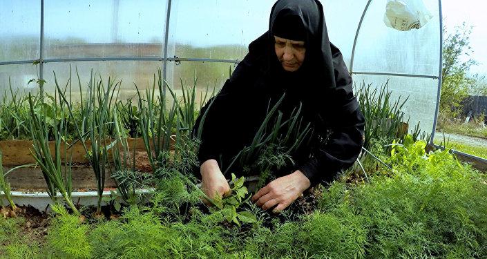 راهبة في دير