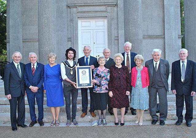 عائلة من إيرلندا دخلت كتاب غينيس للأرقام القياسية