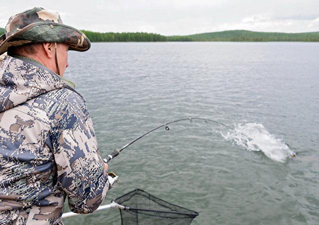 رحلة الصيد الرئيس بوتين (أرشيف)