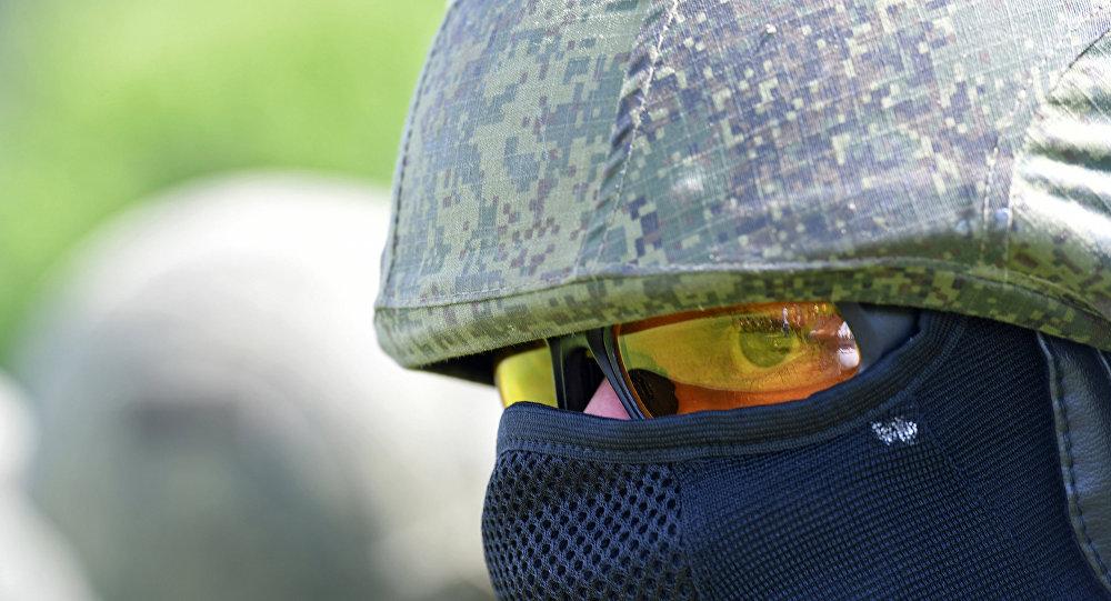أحد أفراد القوات الخاصة الروسية