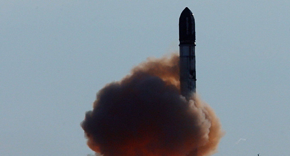 إطلاق صاروخ فويفودا