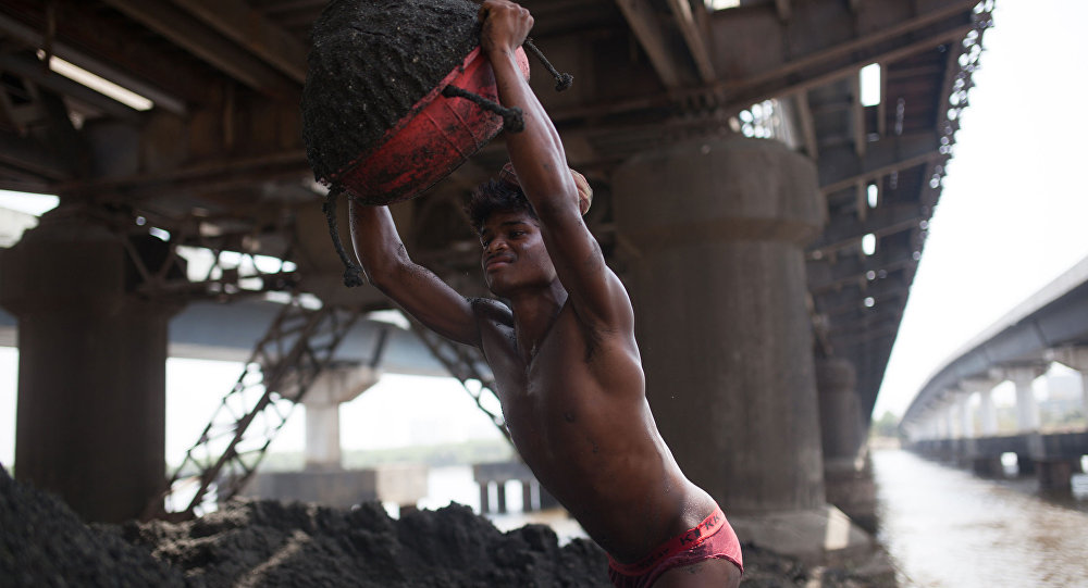عامل في الهند