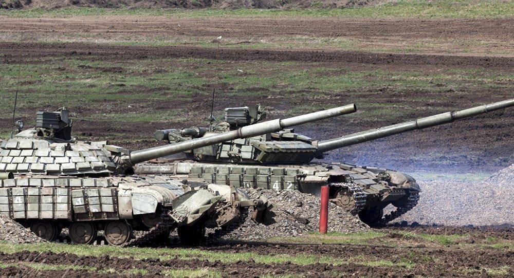 دبابات جمهورية لوغانسك الشعبية