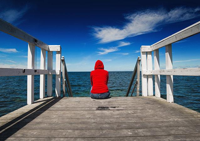 فتاة وحيدة