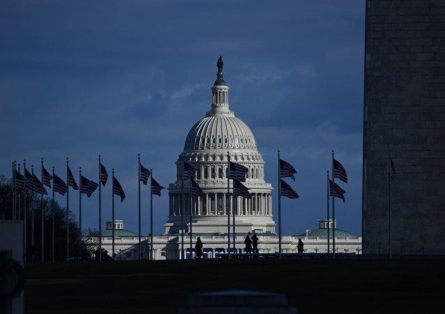 إطلالة على مبنى الكابيتول في واشنطن