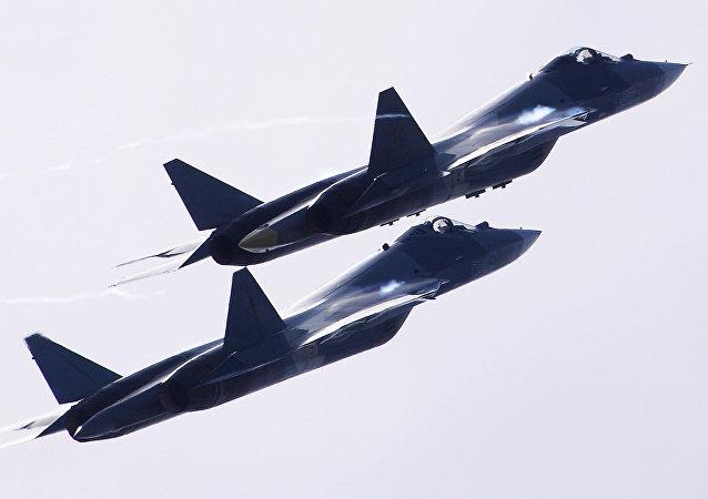 مقاتلات روسية تي 50