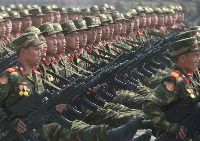 عرض عسكري للجيش الكوري الشمالي