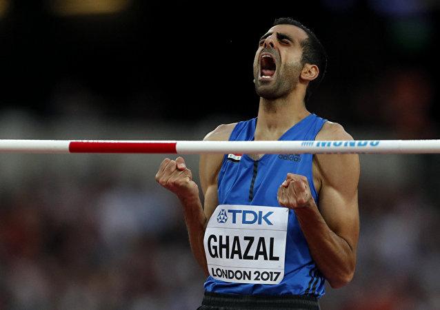 اللاعب السوري مجد الدين غزال