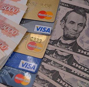 الدولار الأمريكي والروبل الروسي