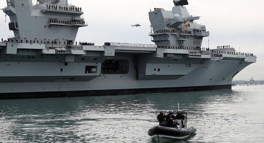 حاملة الطائرات البحرية الملكية الجديدة الملكة اليزابيث