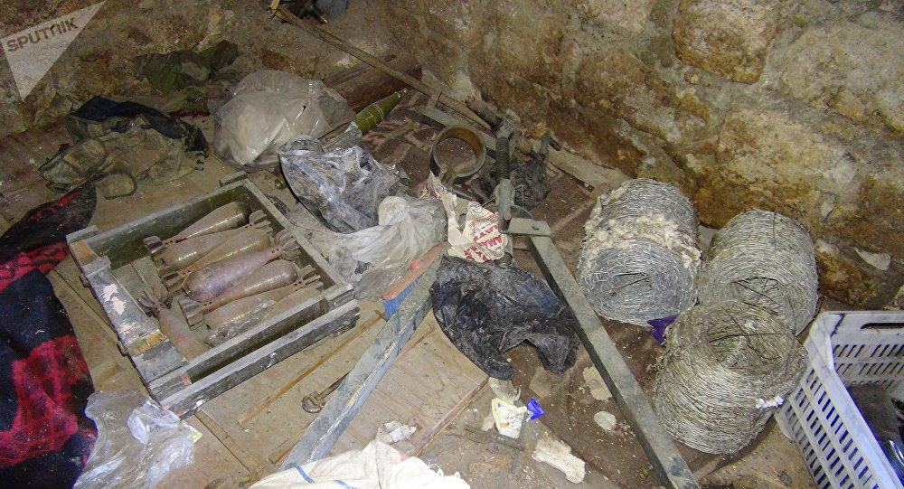 من مخلفات داعش بريف حمص الشرقي