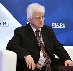 المندوب الروسي الدائم لدى أوروبا فلاديمير تشيجوف